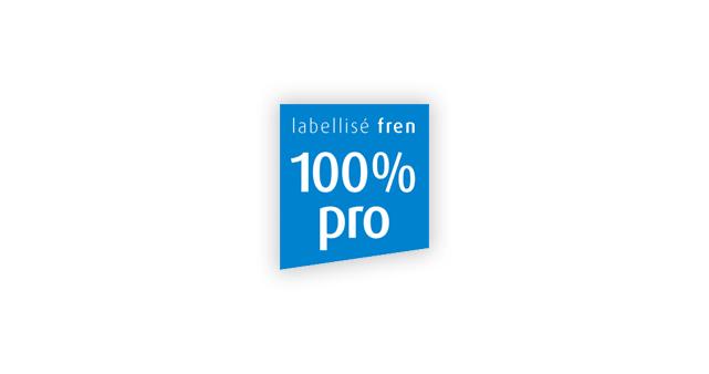 Label 100% pro