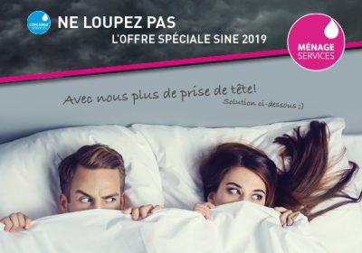 Offre spéciale SINE 2019