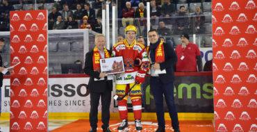 Meilleur joueur du mois au EHC Bienne