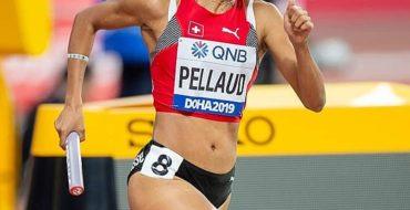Rachel Pellaud aux mondiaux d'athlétisme