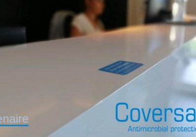 Coversafe – une barrière contre les virus et les bactéries